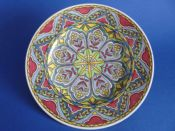 Lovely Royal Doulton Geometric 'Floral Pattern N' Series Rack Plate c1934 D5293 (Sold)